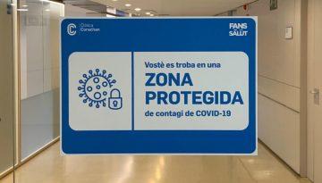 Dentista Clínica Corachán Zona Protegida Covid-19